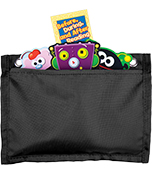 Magnetic Board Buddies: Black Pocket Chart Product Image