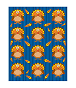 Turkeys Shape Stickers Product Image