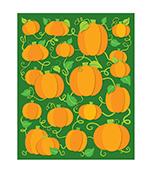 Pumpkins Shape Stickers Product Image