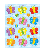 Butterflies Shape Stickers Product Image