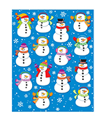 Snowmen Shape Stickers Product Image