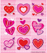 Valentines Prize Pack Stickers Product Image
