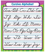 Cursive Alphabet Sticker Pack Product Image