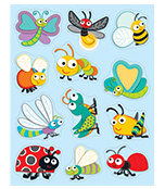 """Buggy"" for Bugs Shape Stickers Product Image"