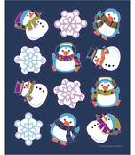 Winter Fun Shape Stickers Product Image