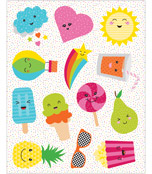School Pop Shape Stickers Product Image
