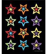 Celebrate Learning Shape Stickers Product Image