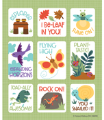 Nature Explorers Prize Pack Stickers Product Image