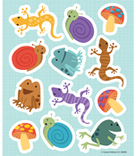 Nature Explorers Shape Stickers Product Image