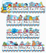 Alphabet Train Bulletin Board Set Product Image