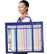Deluxe Bulletin Board Storage Pocket Chart Storage Product Image