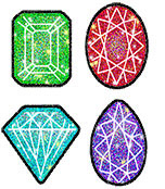 Jewels Chart Seals Product Image