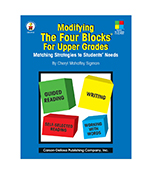 Modifying the Four-Blocks® for Upper Grades Resource Book Product Image