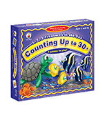 1,2,3, Treasures in the Sea Board Game Product Image