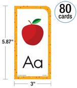 Alphabet, 80 Card Set Flash Cards Product Image