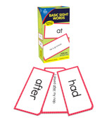 Basic Sight Words Flash Cards Product Image