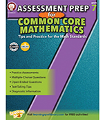 Assessment Prep for Common Core Mathematics Resource Book Product Image
