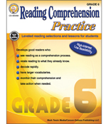 Reading Comprehension Practice Resource Book Product Image