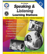 Speaking and Listening Learning Stations Resource Book Product Image