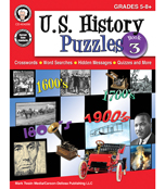 U.S. History Puzzles, Book 3 Resource Book Product Image