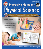 Interactive Notebook: Physical Science Workbook Product Image