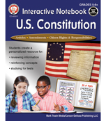 Interactive Notebook: U.S. Constitution Workbook Product Image