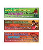 Good Sentences Mini Bulletin Board Set Product Image