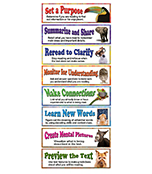 Building Reading Comprehension Skills Mini Bulletin Board Set Product Image