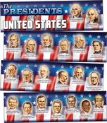 Presidents of the United States Mini Bulletin Board Set Product Image
