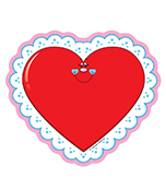 Valentines Cut-Outs Product Image