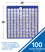 Hundreds Pocket Chart Product Image
