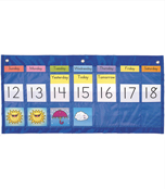 Weekly Calendar with Weather Pocket Chart Product Image