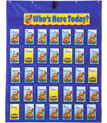 Attendance/Multiuse Pocket Chart Product Image