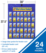 Attendance/Multiuse Pocket Chart Product Image