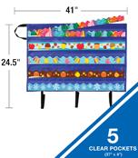 Border Pocket Chart Storage Product Image