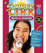 Summer Link: Math plus Reading Workbook Product Image