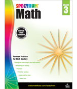 Spectrum Math Workbook Product Image