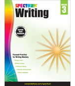 Spectrum Writing Workbook Product Image