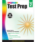Spectrum Test Prep Workbook Product Image