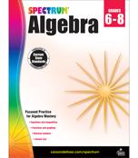 Spectrum Algebra Workbook Product Image