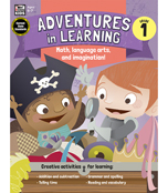 Adventures in Learning Workbook Product Image