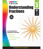 Spectrum Focus: Understanding Fractions Workbook Product Image