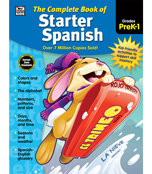 The Complete Book of Starter Spanish Workbook Product Image