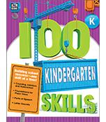 100 Kindergarten Skills Workbook Product Image