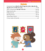 I Know: Letters & Sounds Activity Book Product Image
