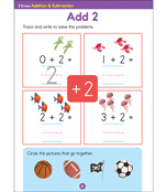I Know: Addition & Subtraction Activity Book Product Image