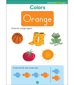 I Know: Basic Concepts Activity Book Product Image