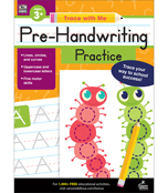 Pre-Handwriting Practice Activity Book Product Image