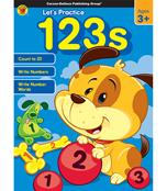 Let's Practice: 123s Activity Book Product Image
