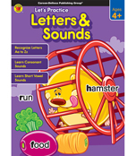 Let's Practice: Letters & Sounds Activity Book Product Image